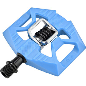 Crankbrothers Double Shot 1 Pedaler, blue/black